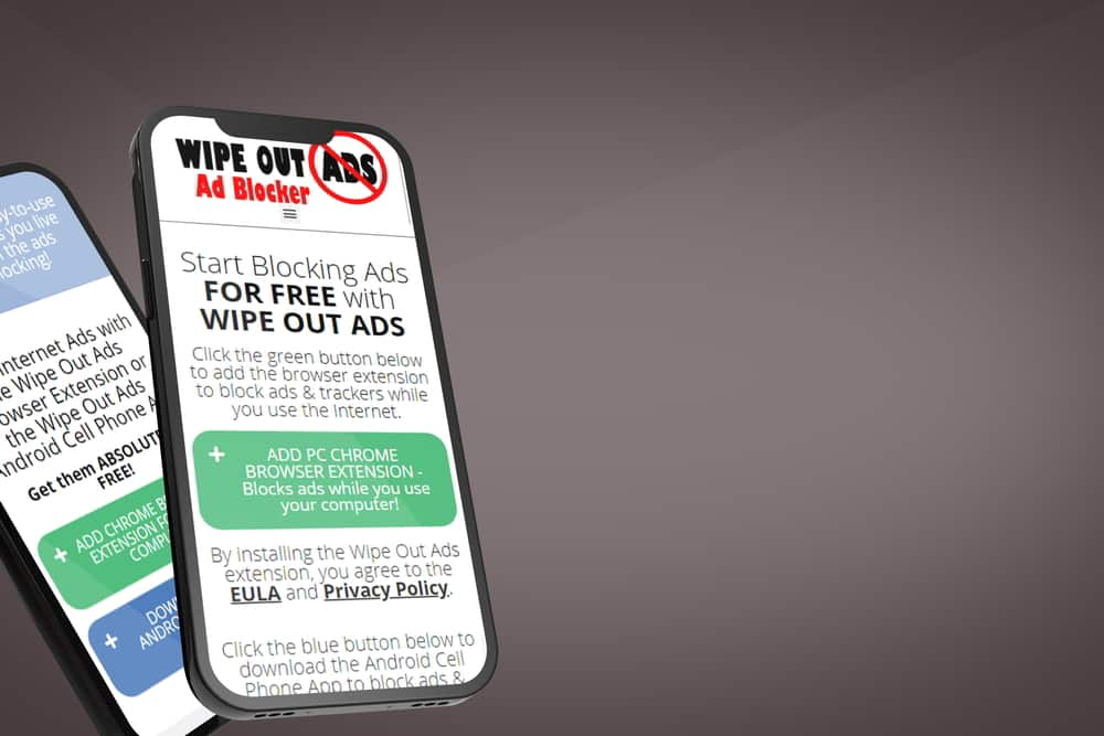 Wipes Out ADS by saWEB