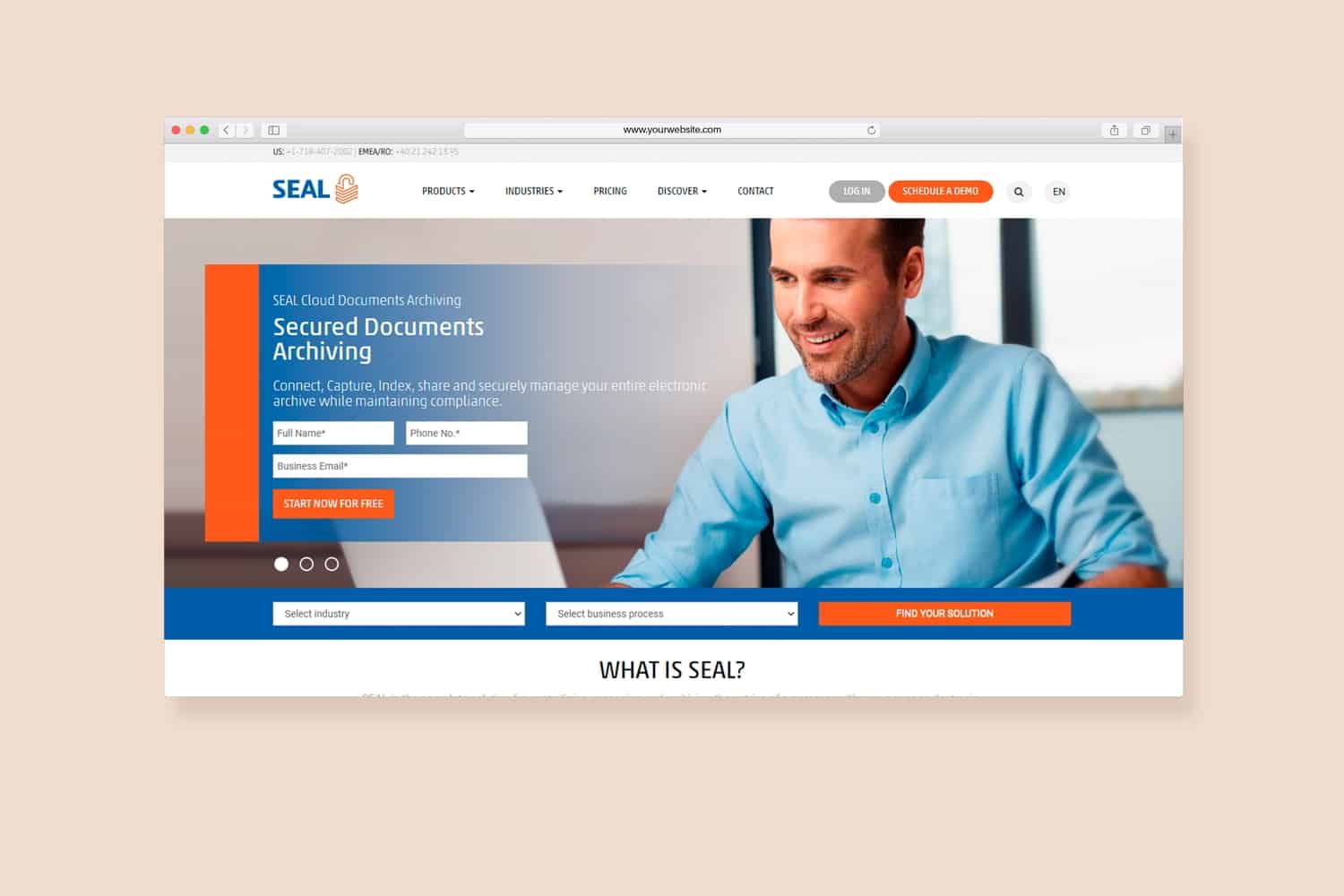 seal online by saweb